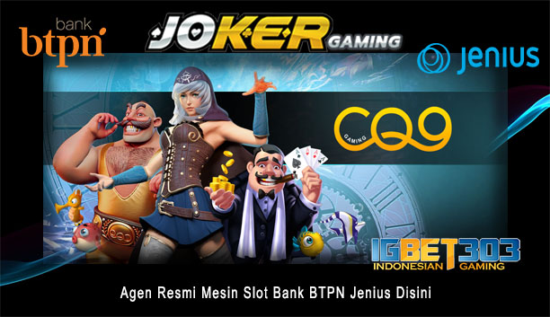 Mesin Slot Bank BTPN Jenius